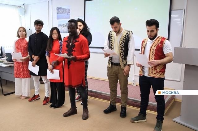 В РУДН учатся студенты из 160 стран.