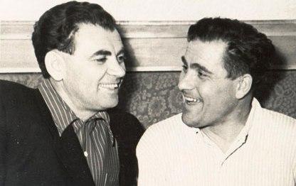 Ян Винецкий (слева) и Михаил Девятаев.