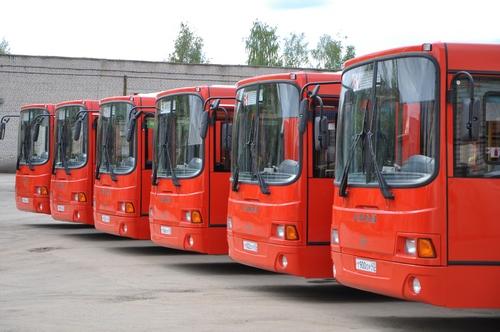 Комплектация у городских автобусов - импортная.
