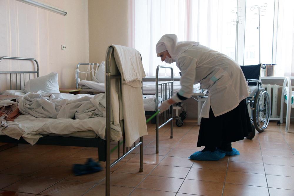 Сестры милосердия в Челябинске