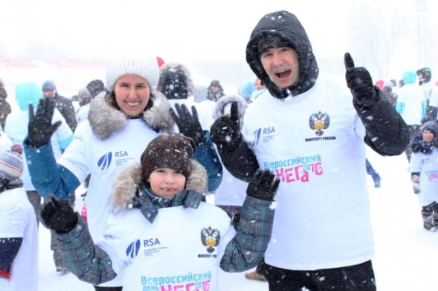 Всероссийский день снега в Чебоксарах