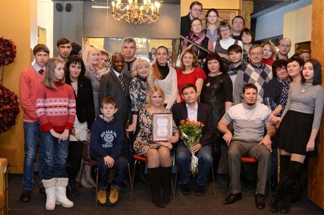 Таланты и поклонники в «Золотой пирамиде».