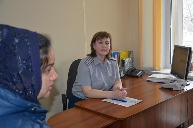 Начальник филиала уголовно-исправительной инспекции по Барнаулу Лариса Бачурина