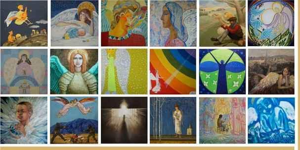 365 ангелов разных художников будут собраны в единое полотно.