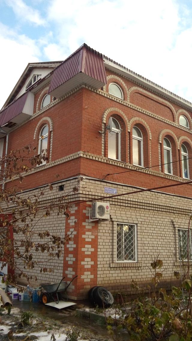 Дом, подаренный Алиной Кабаевой многодетной семье Оксаны Рыжковой.