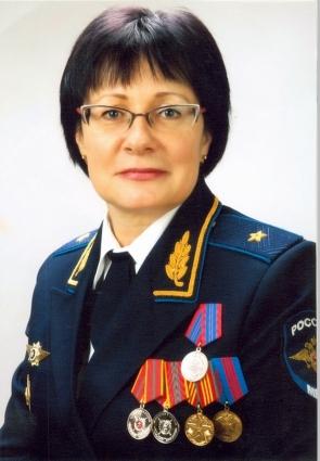Тамара Белкина - единственная женщина-генерал в силовых структурах Красноярского края.