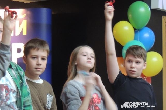 В чемпионате приняли участие 8 детей.