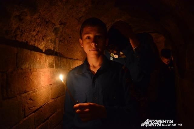 Длина нынешнего пещерного хода - около 100 метров