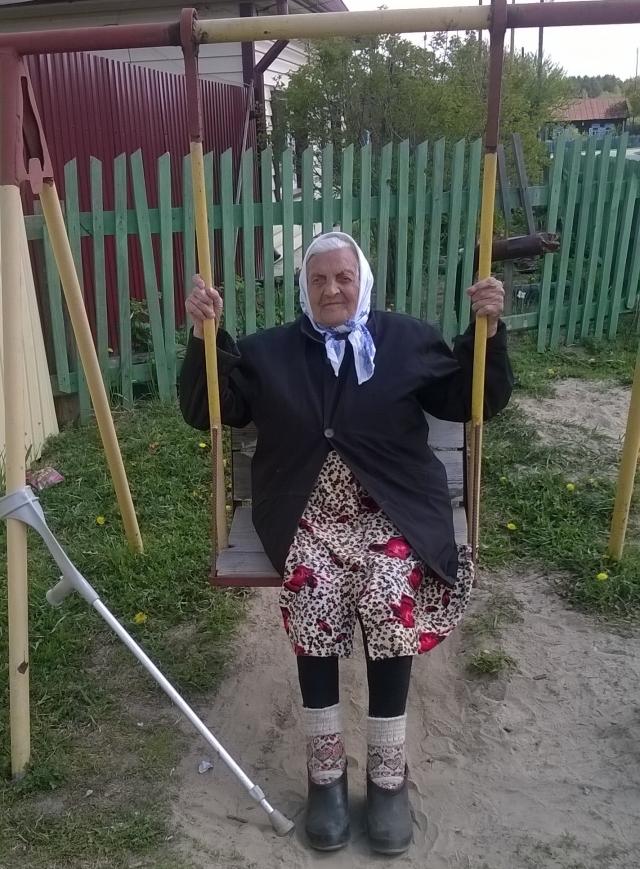 Мария Диль. Село Княжево, Тюменская область.