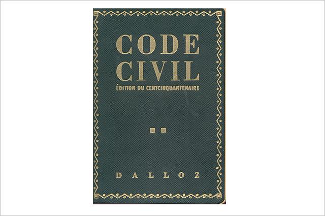 Кодекс Наполеона. Издание 1955 года.