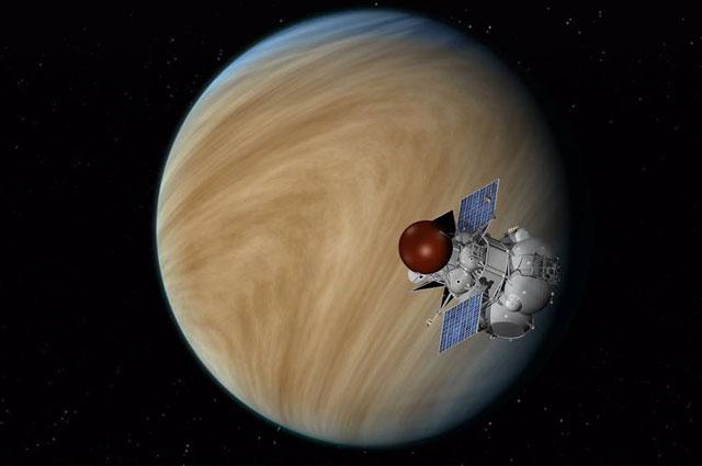 «Венера-Д» будет первым вене- рианским зондом, запущенным Россией после распада СССР. Запуск планируют осуществить в 2025 г.