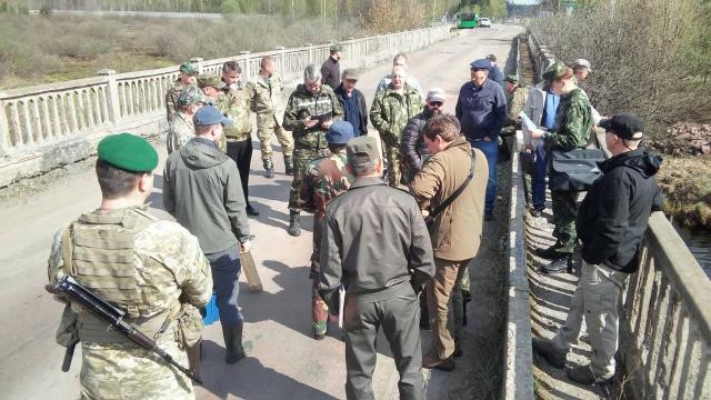 Работа совместной украино-белорусской комиссии по демаркации