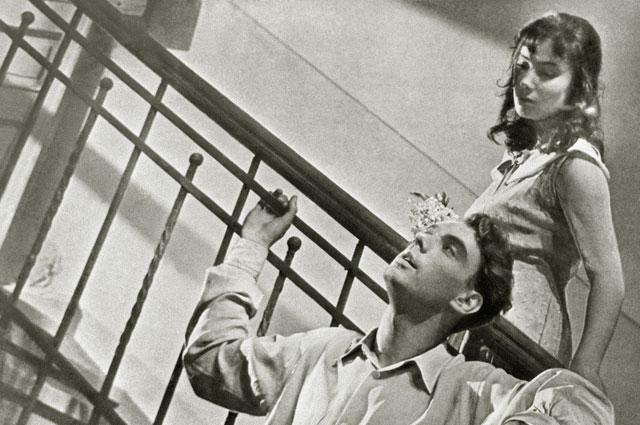 В фильме «Летят журавли» Баталов и Самойлова составили пронзительный дуэт.