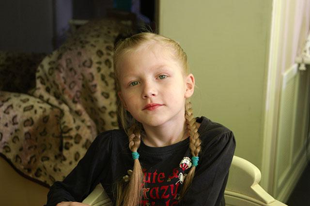 Маша Костылева.