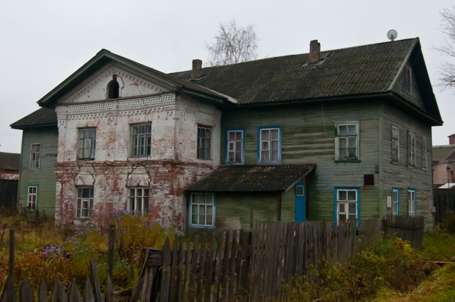 Дом до обрушения фасада