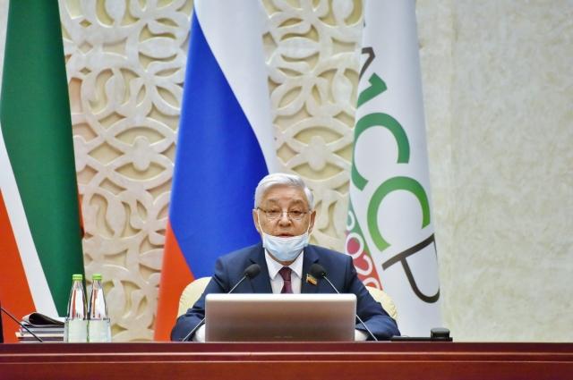 О пути, пройденном Татарстаном, сказал председатель Госсовета республики Фарид Мухаметшин.