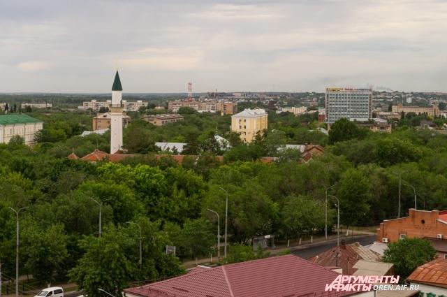 С рабочего места Константина Петровича  открывается один из лучших видов на город