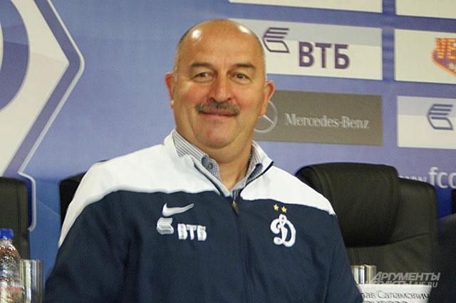 Тренер Динамо Станислав Черчесов