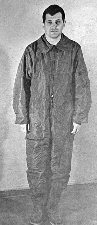 Фотография Пауэрса в СССР