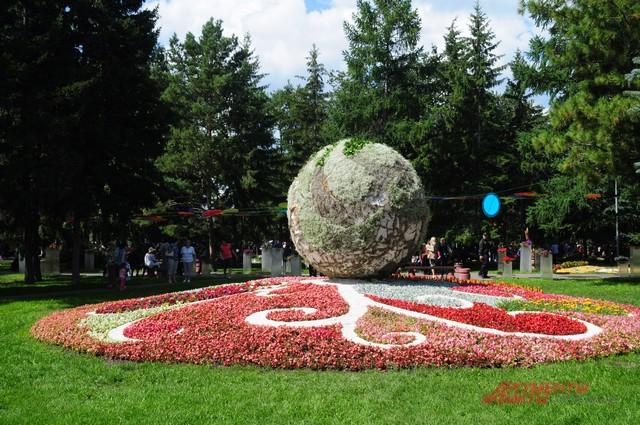 В этом году цветочный фестиваль отмечает 65-летний юбилей.