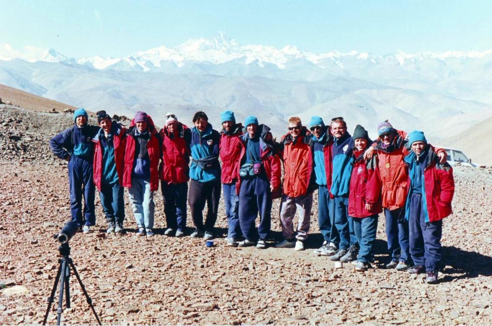 Участники восхождения в 1996 году.