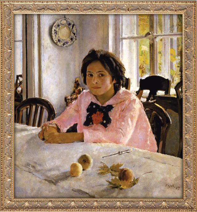 Валентин Серов. «Девочка с персиками». 1887 год