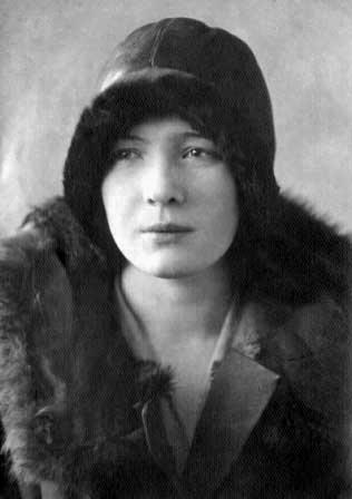 Ольга Берггольц в 1930 году.