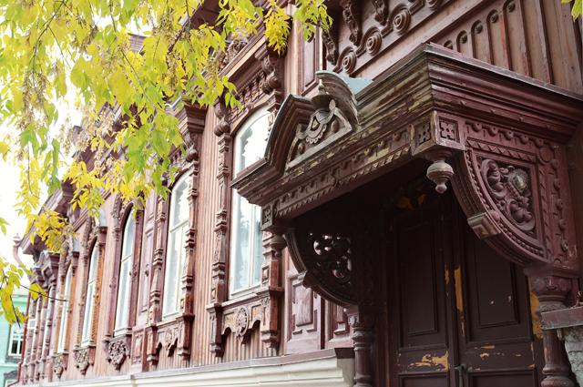 Памятники деревянного зодчества - настоящие «фишки» Тюмени.