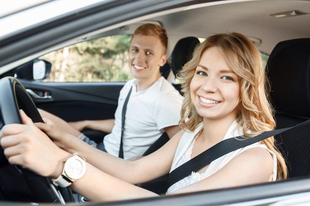 вождение автомобиля сша