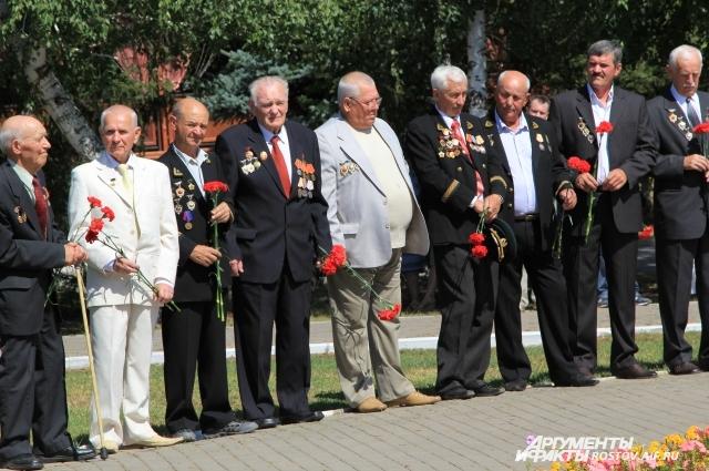 Ветераны - шахтеры Ростовской области