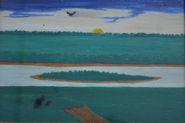 Ни одну свою картину Александр Чусовитин не продал.