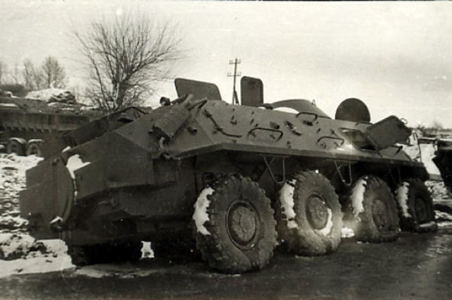 БТР подполковника Жукова попалв засаду 4 января 1980 г. в районе Панджабара провинции Кундуз.