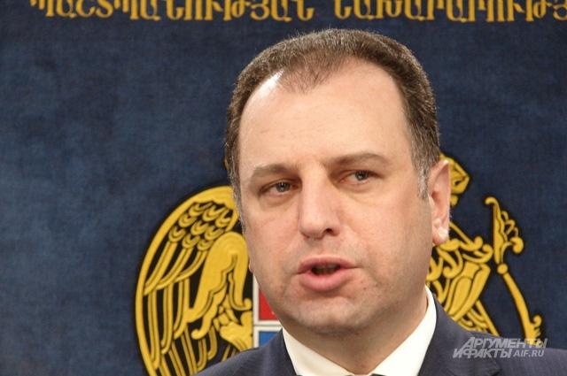 Министр обороны Виген Саргсян