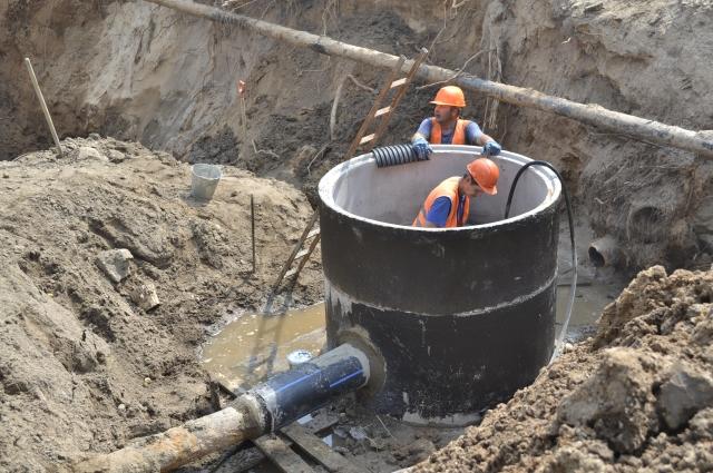 Новые трубы - чистая вода!