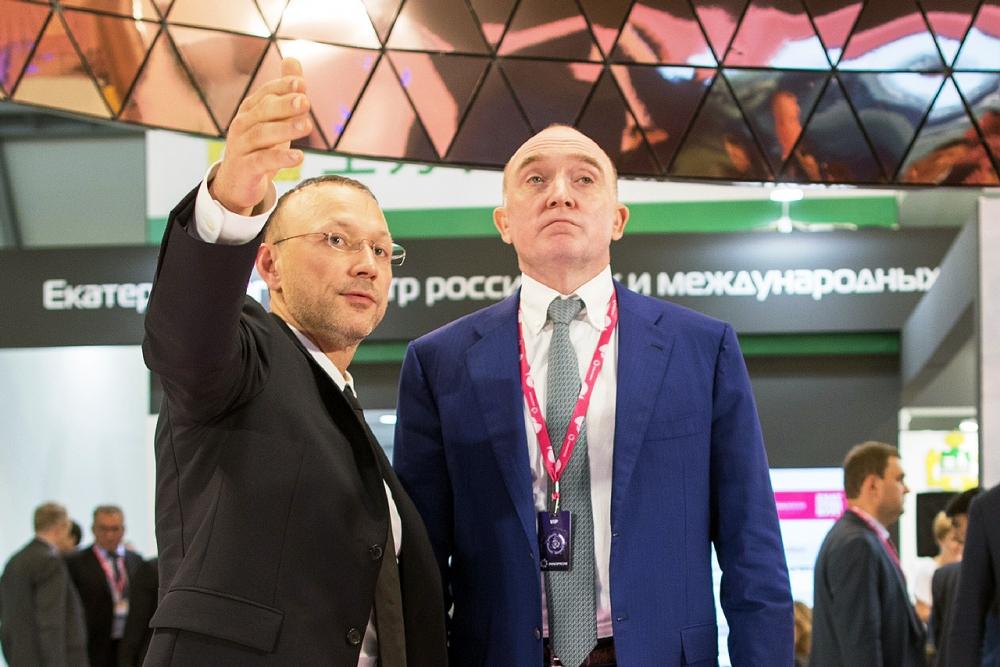 Игорь Алтушкин познакомил с «Медным домом РМК» губернатора Челябинской области Бориса Дубровского.