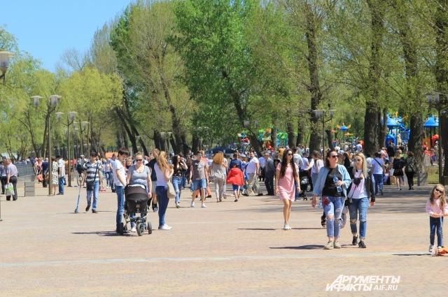 Новый парк пришёлся по душе ростовчанам и гостям города!