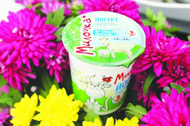 Йогурт из козьего молока - новый продукт Центра питательных смесей.