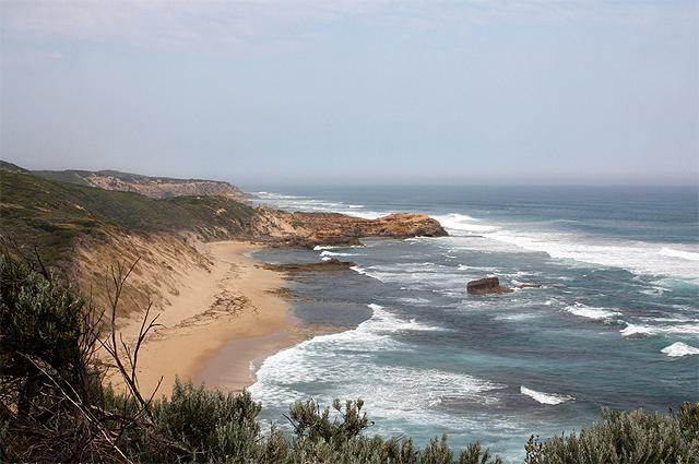 Пляж Чевиотт.