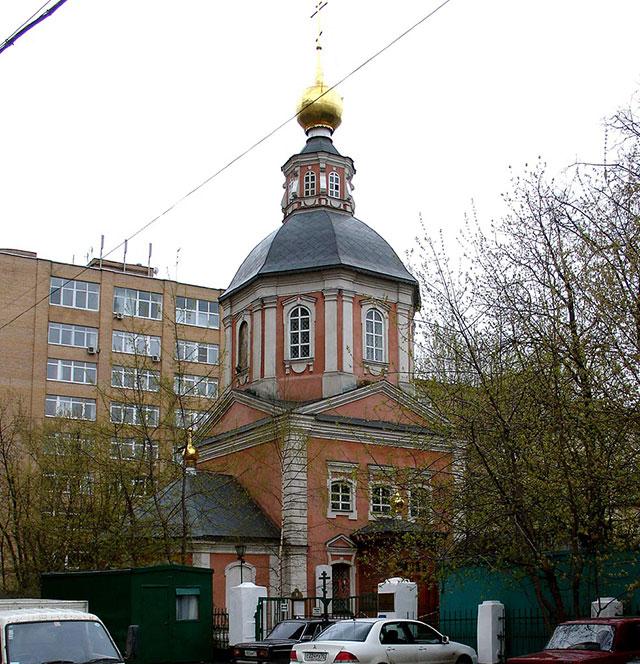 Храм Спаса Преображения на Болвановке в Москве