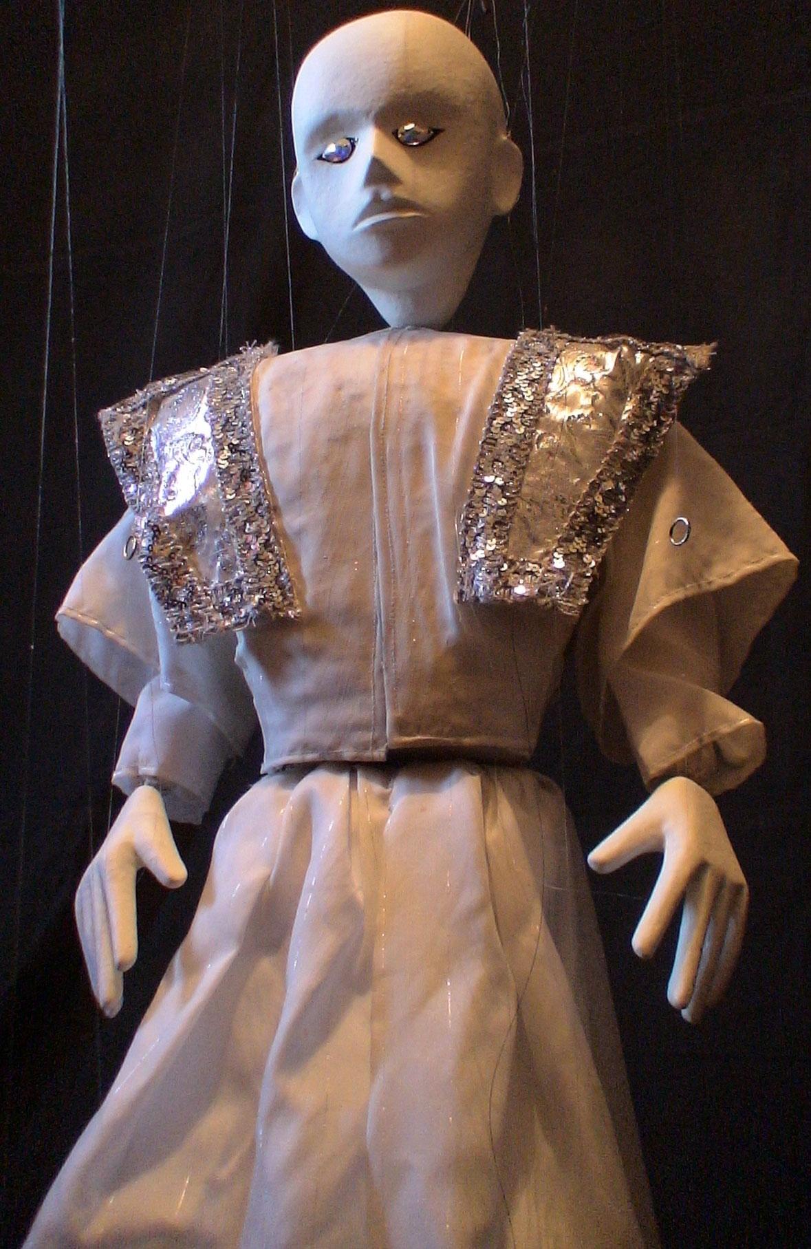 Кукла из представления театра Николая Зыкова