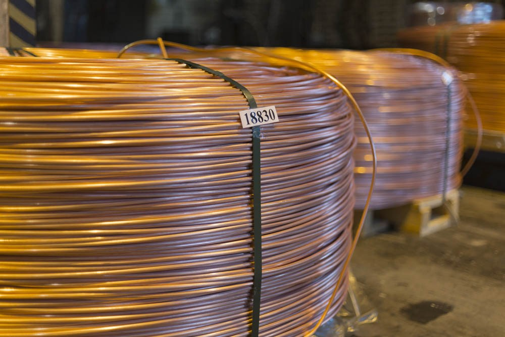 С момента запуска произвводства медной катанки на КМЭЗе производительность линии выросла более чем в 10 раз.