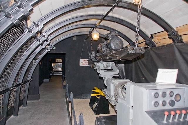 Коллекция горно-шахтного оборудования определяет специфику музея.