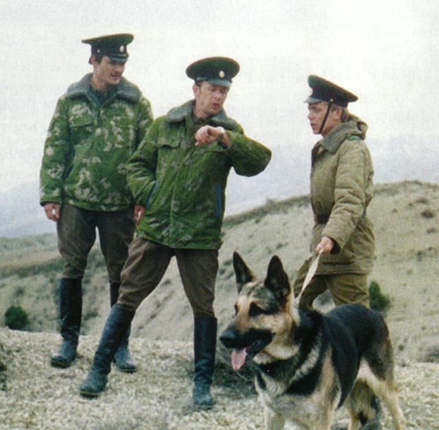«Пограничный пес Алый», 1979.