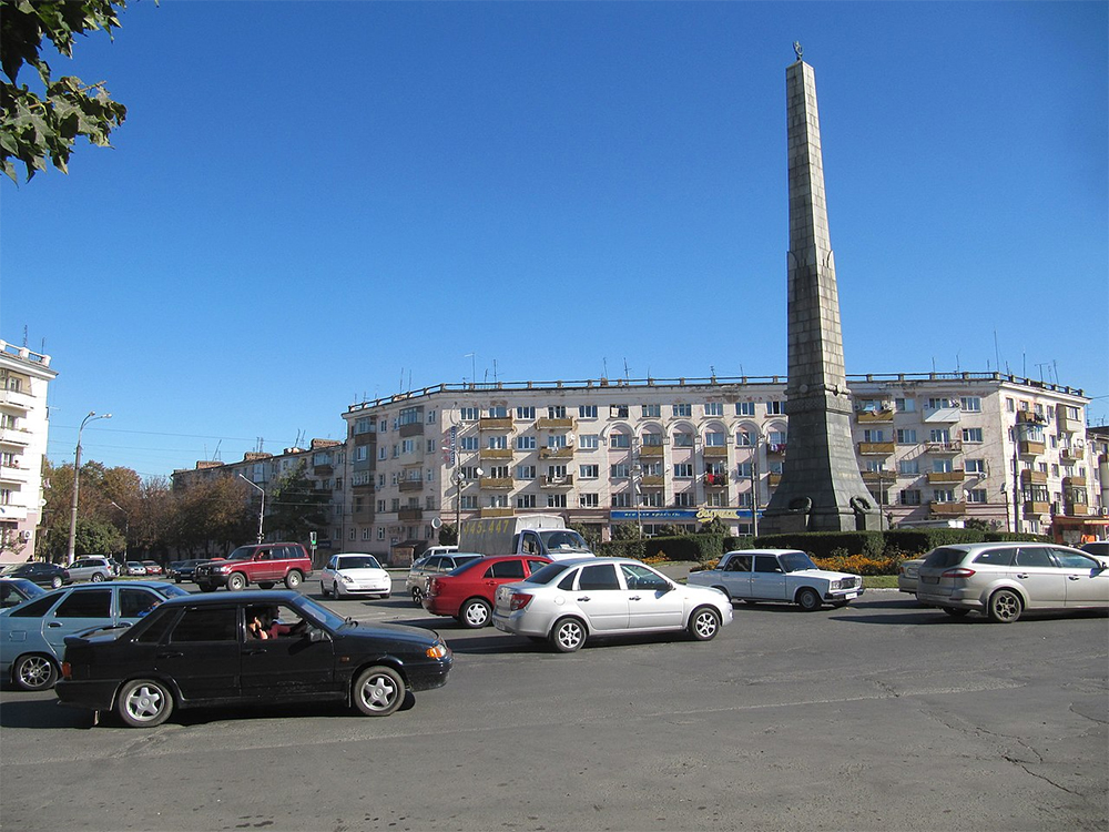 Владикавказ. Площадь Революции.
