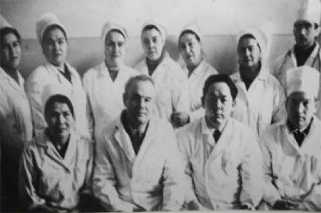 Коллектив кафедры инфекционных болезней 1967 г