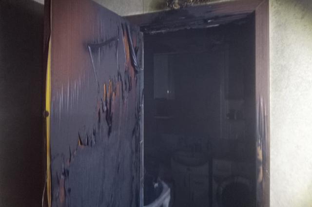 Пожар в Белорецке