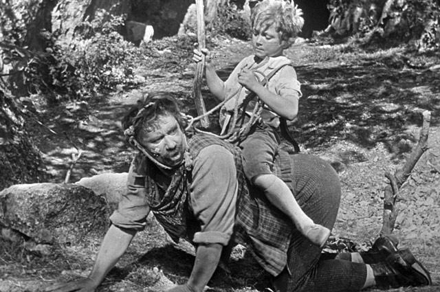 Алексей Смирнов в фильме «Деловые люди», 1962 год
