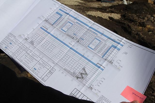 План строительства.