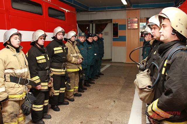 Развод караулов обязательный пункт в расписании пожарных