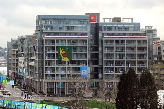 Олимпийская деревня зимних Игр в Ванкувере. 2010 год